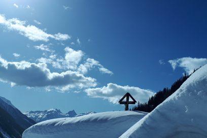 Le Lötschental sous des tonnes de neige !