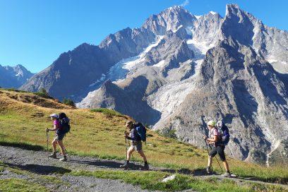 4 jours sur le tour du Mont-Blanc – in italiano